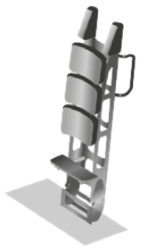 Flyboard Flying Theater Support Device